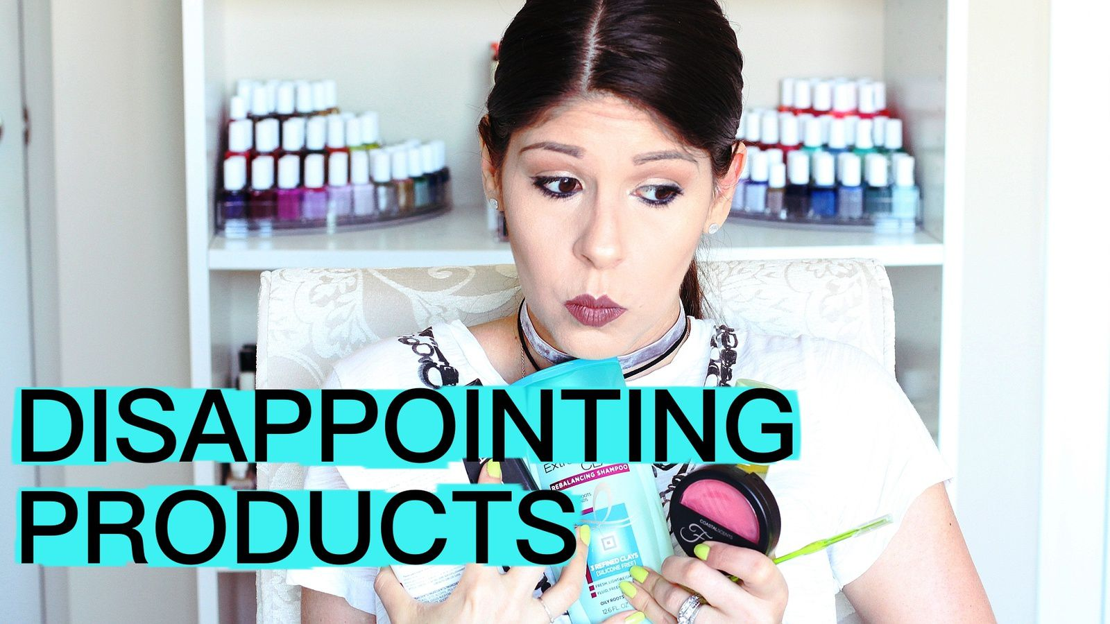 DISAPPOINTING PRODUCTS BLAH!! 2017