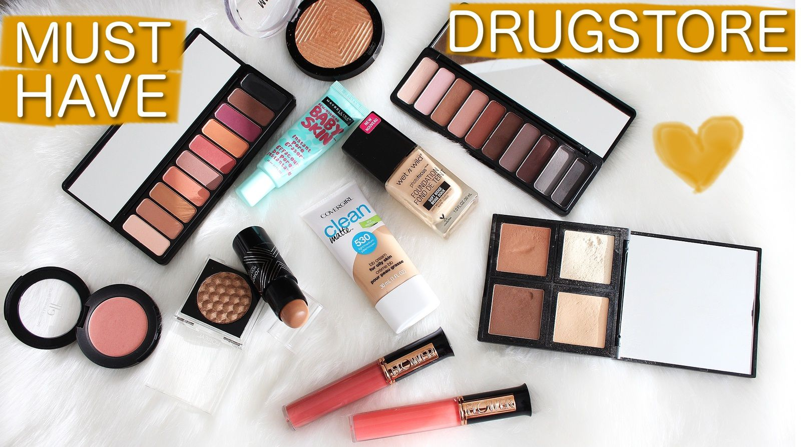 MUST HAVE DRUGSTORE PRODUCTS! 2017