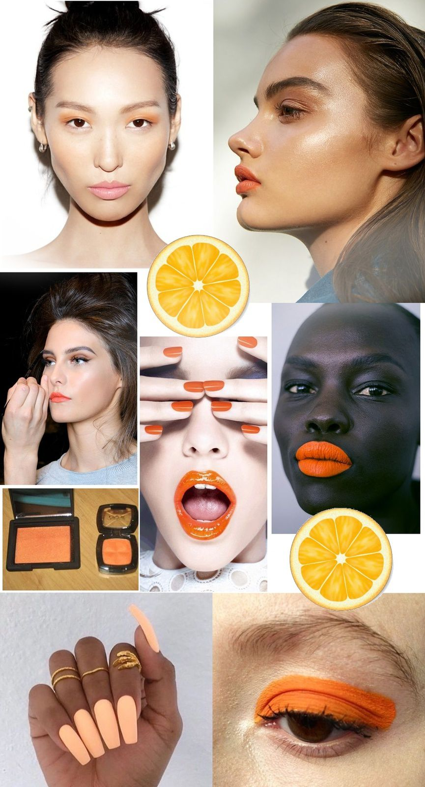 Orange Makeup Obsession