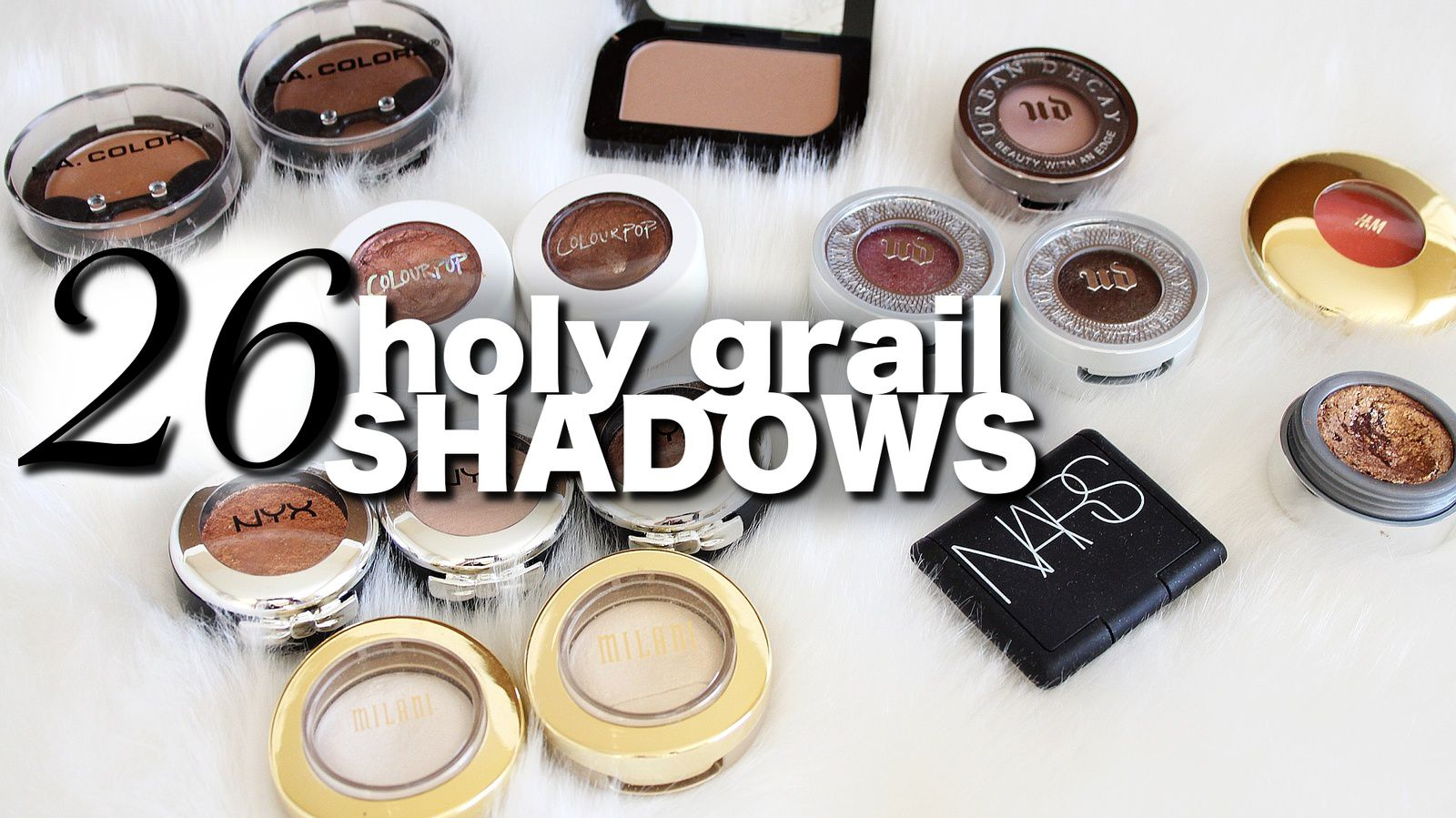 Top BEST Holy Grail Eyeshadow!!!