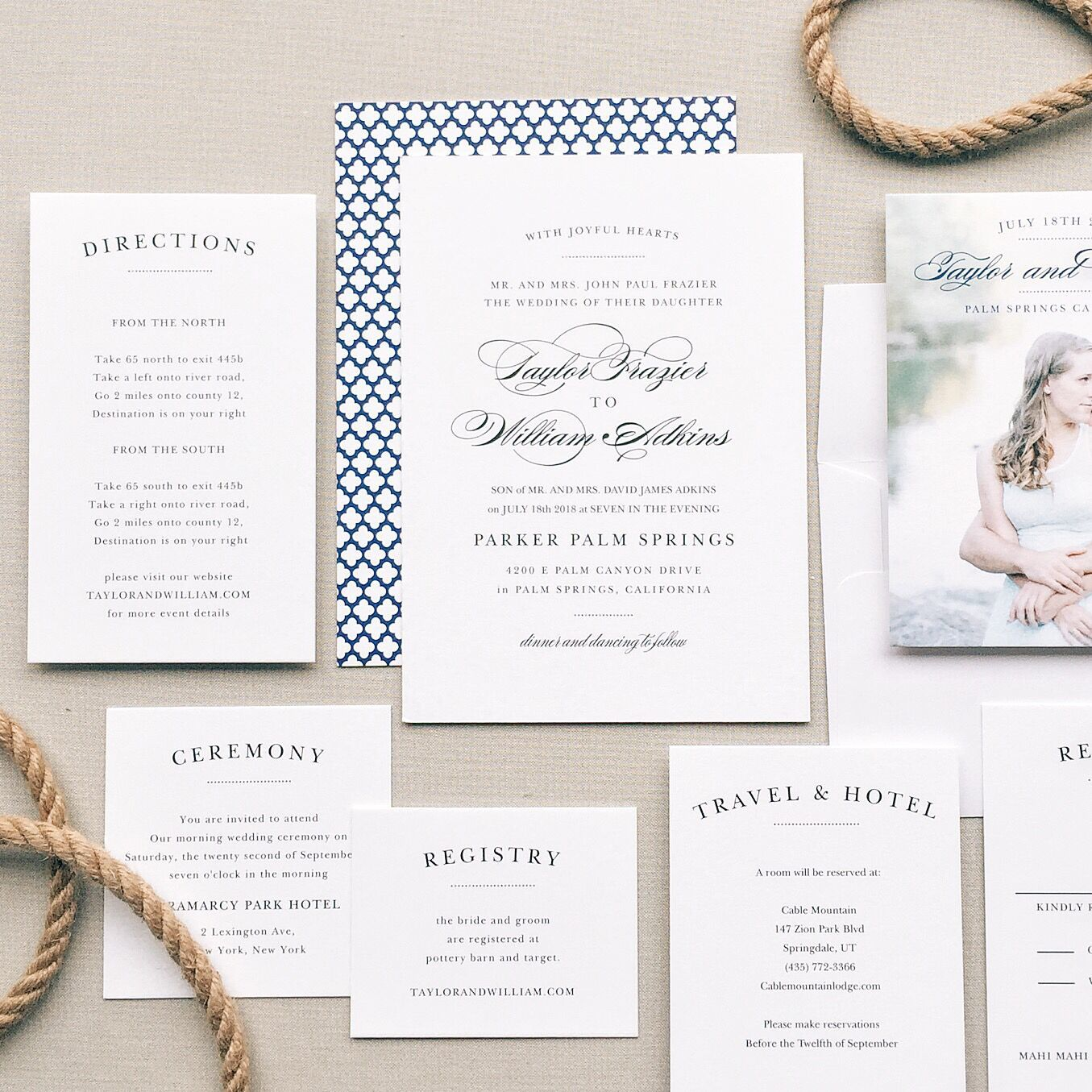 Invitations Made Easy (& Pretty!) - Fashion Chalet by Erika Marie