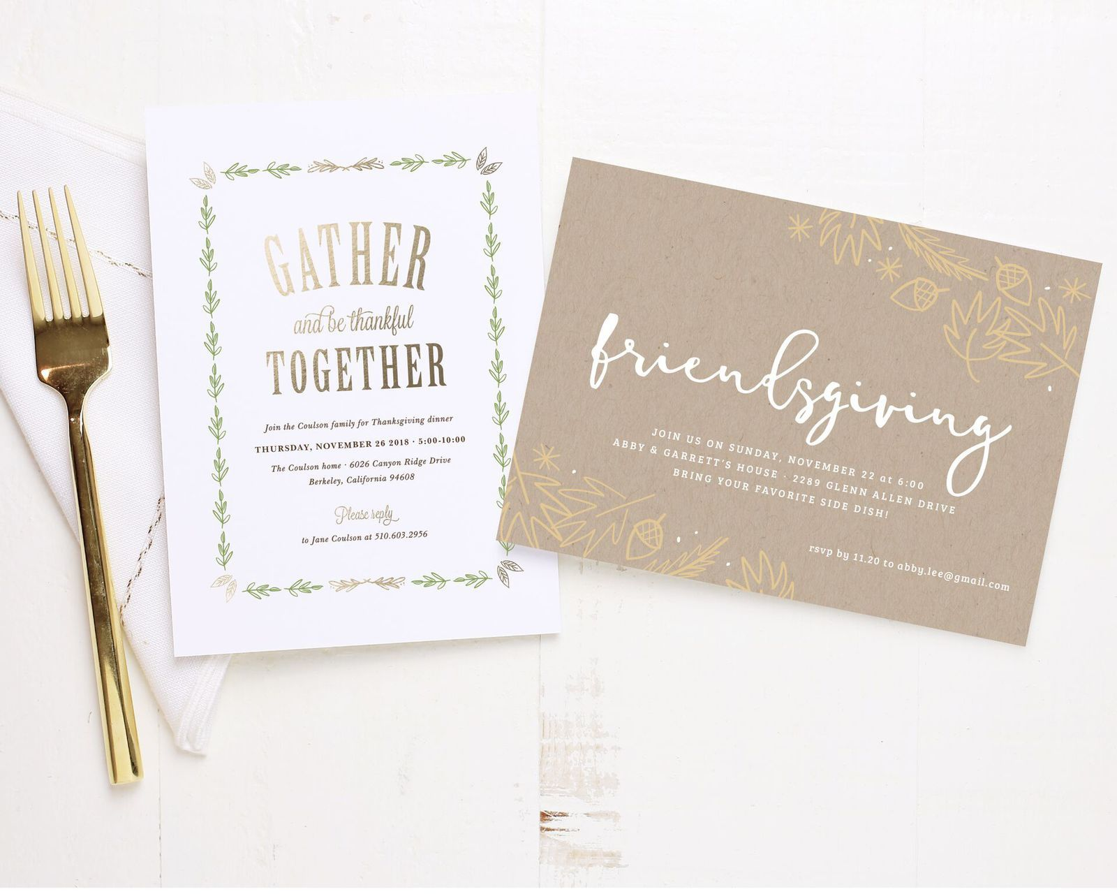 Invitations Made Easy (& Pretty!)
