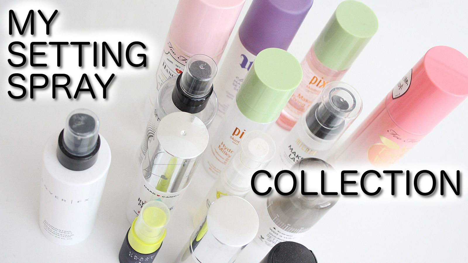 BEST Setting Sprays + My Collection