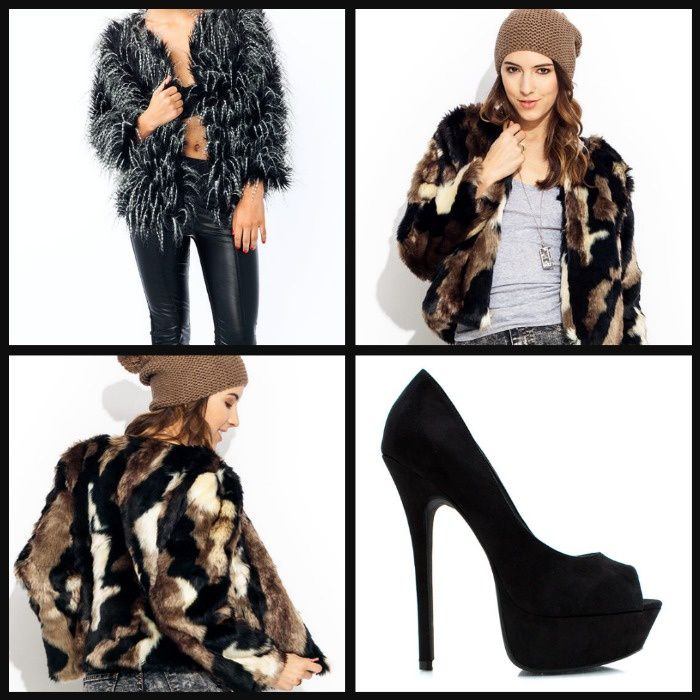 &quot&#x3B;NEW IN&quot&#x3B; Peep Toes and Faux Fur Coats