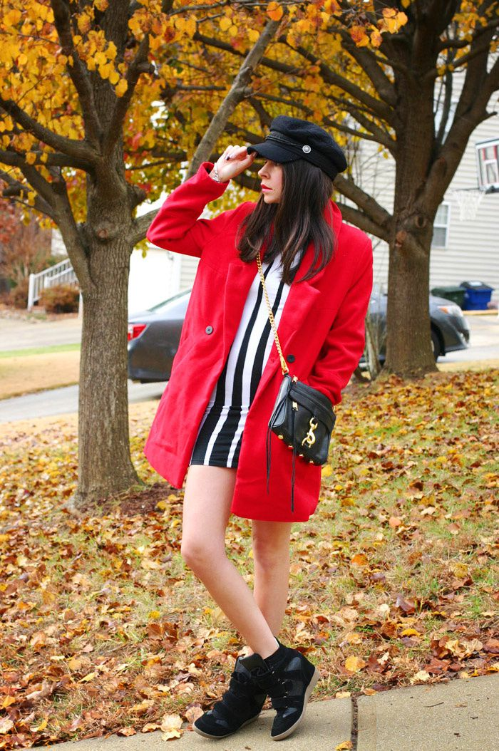 Red Coat and Rebecca Minkoff