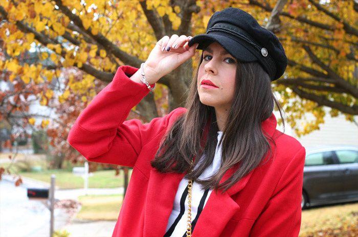 Red Coat and Rebecca Minkoff