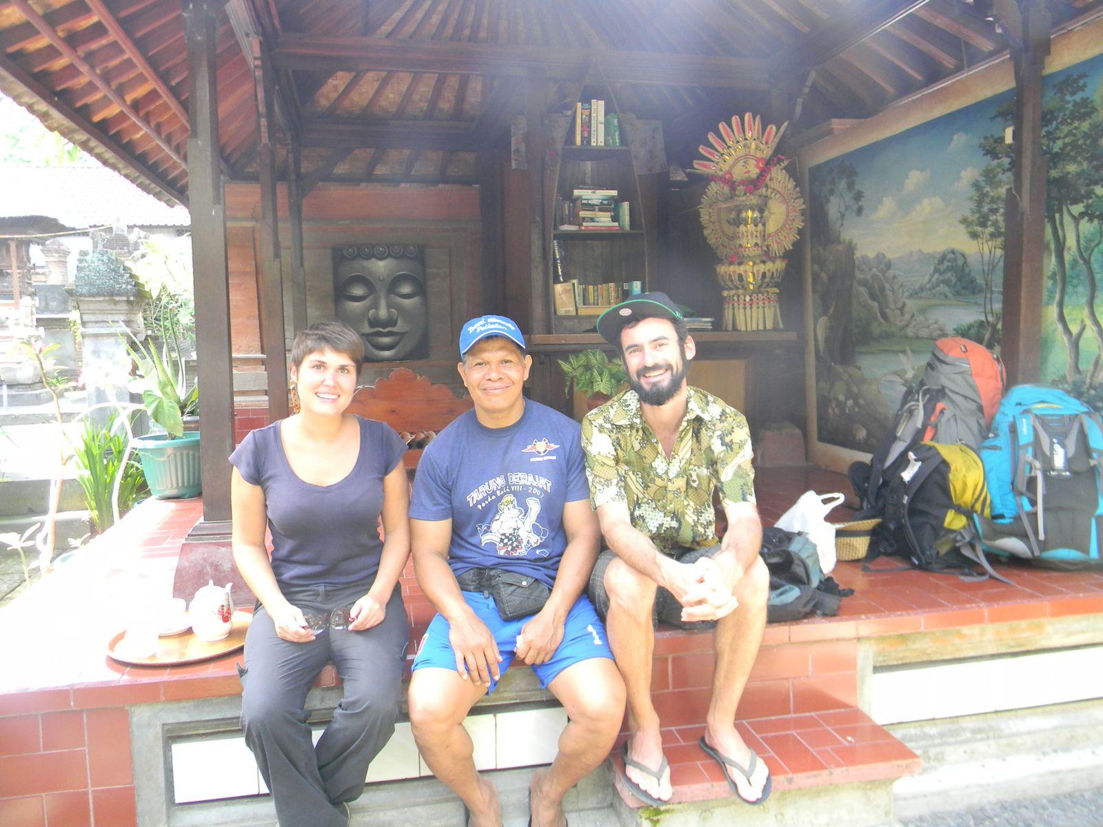 Dany, notre très gentil hôte Balinais! (Ubud)