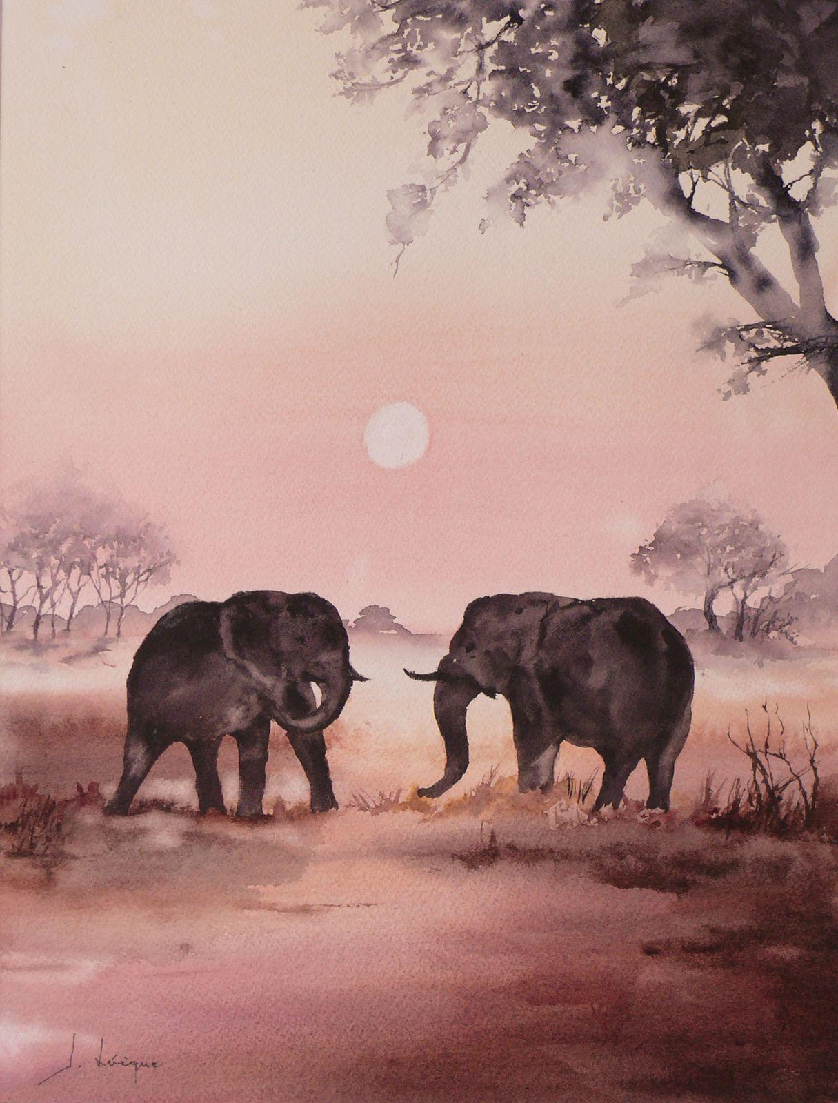 278. ELEPHANTS.      40/50  (28/38)
