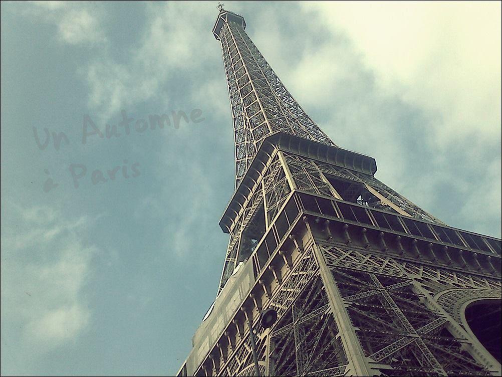Lundi : Nous avons passé la journée à Paris. Magnifique journée.