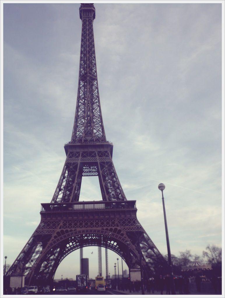 Trois jours à Paris.