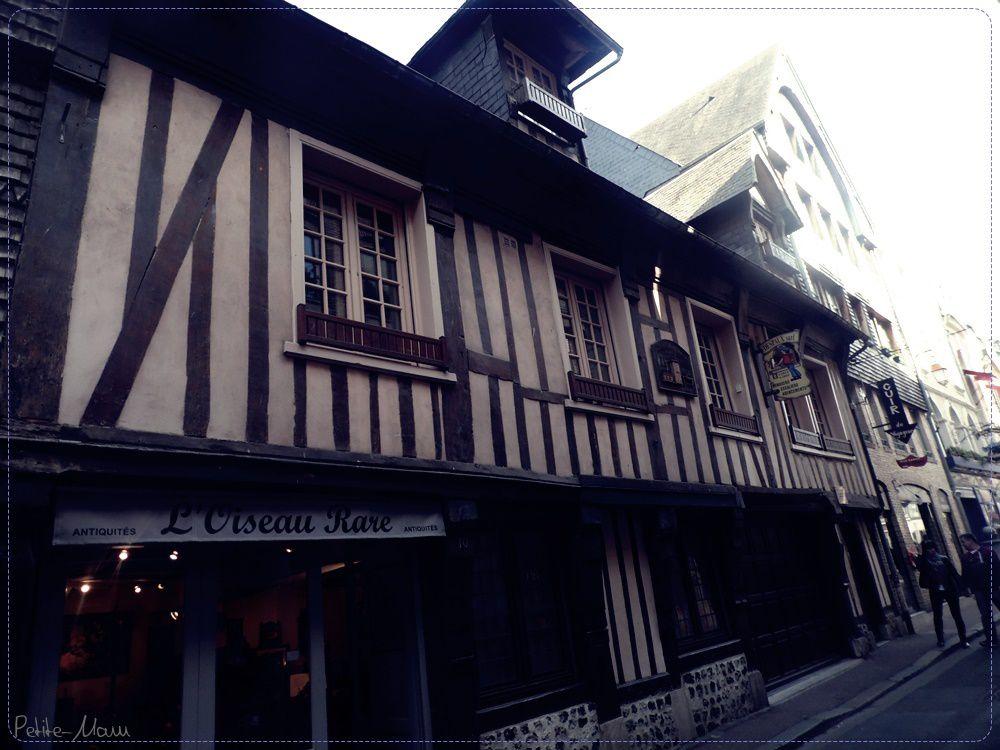Week end en amoureux - La jolie ville d'Honfleur.