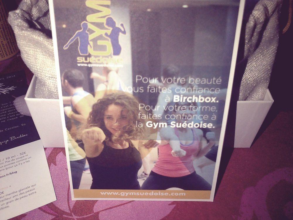 Birchbox Avril.
