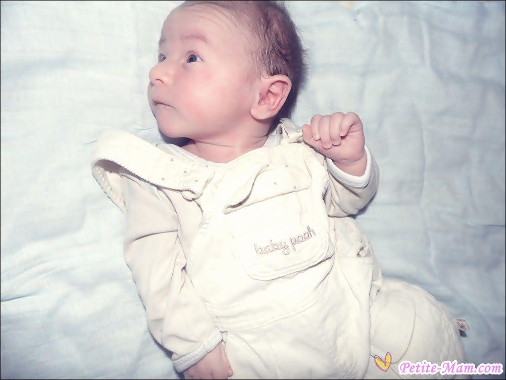 Joyeux 1er moiniversaire Bébé Liam