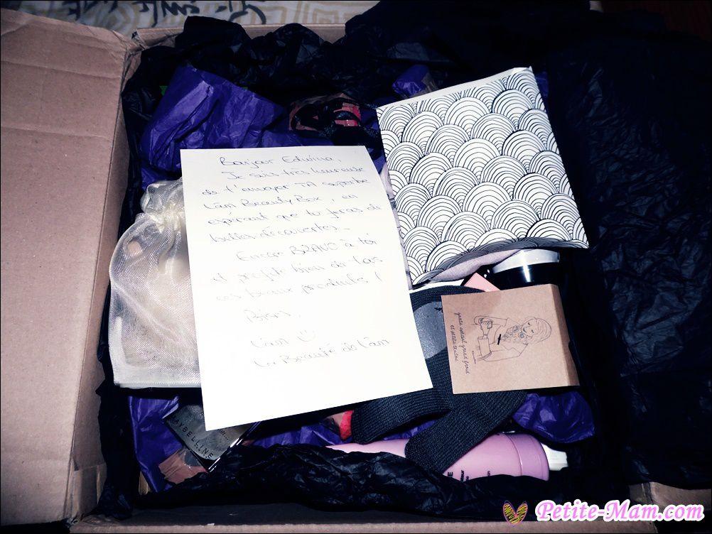 Dans ma boîte aux lettres ... la Beauté de Lâm Box