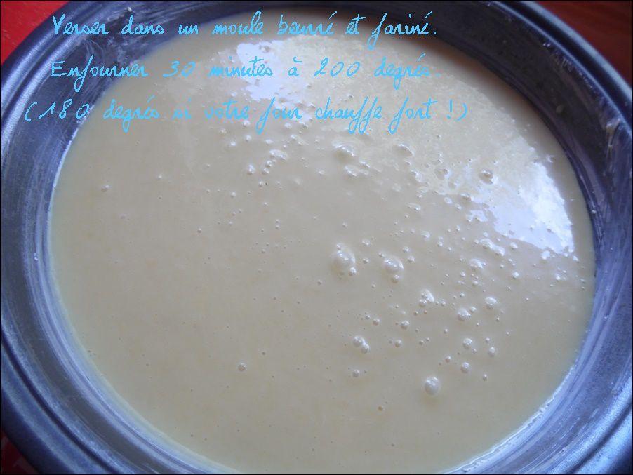 Fondant au chocolat blanc et lait concentré
