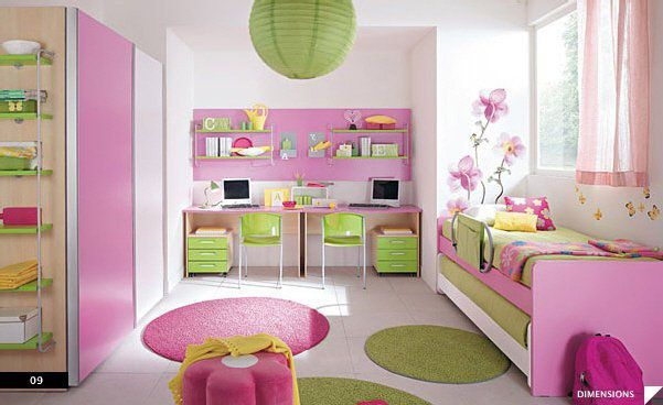 id e d co pour chambre petite fille petite mam. Black Bedroom Furniture Sets. Home Design Ideas