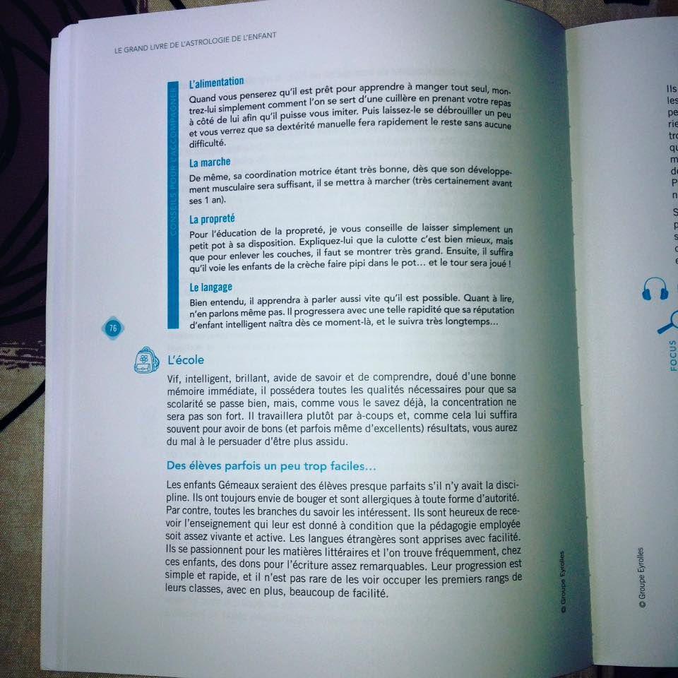 J'ai lu : Le Grand Livre de l'Astrologie des Enfants !