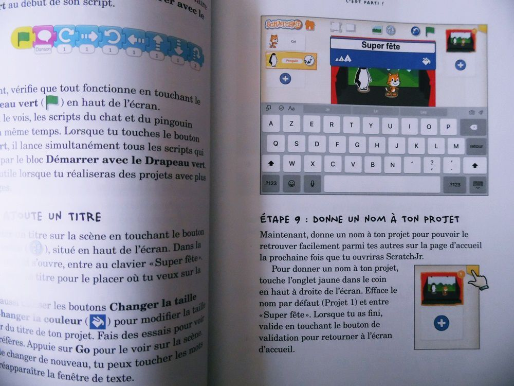J'ai lu : ScratchJr pour les Kids ! (Apprendre à coder dès 5 ans)