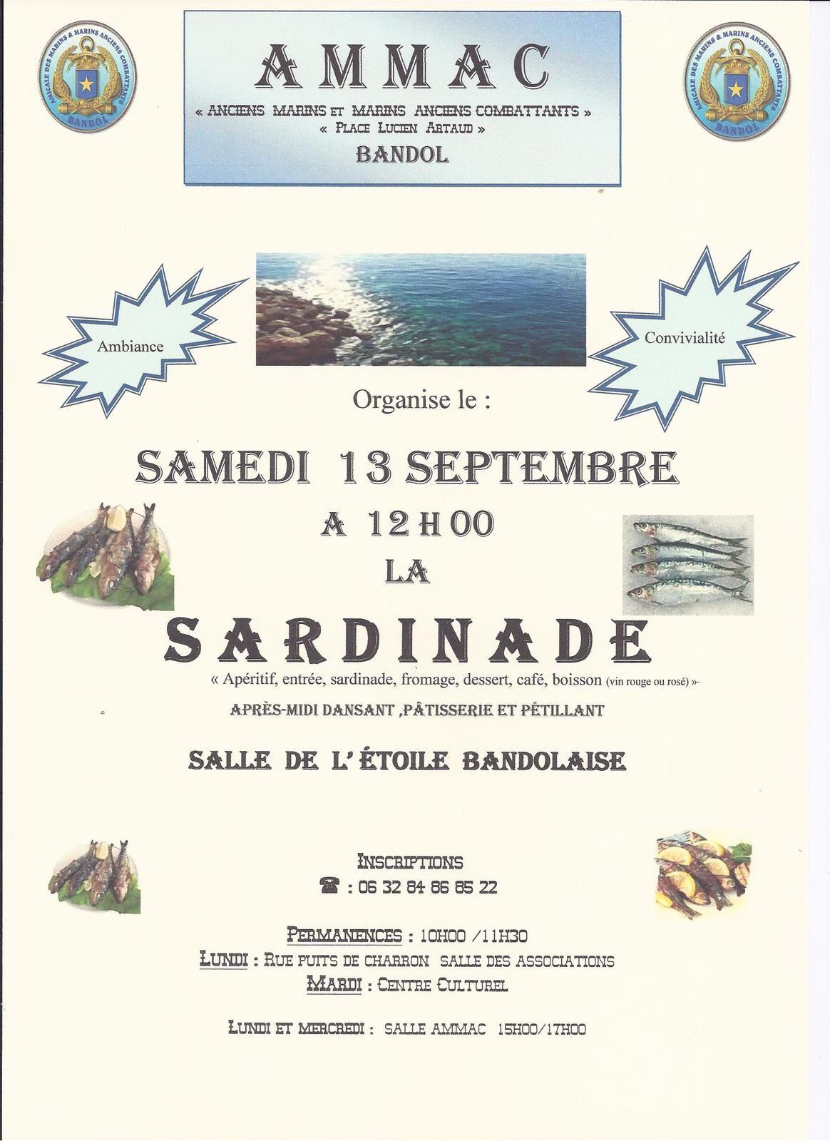 La traditonnelle sardinade organisée par L'AMMAC