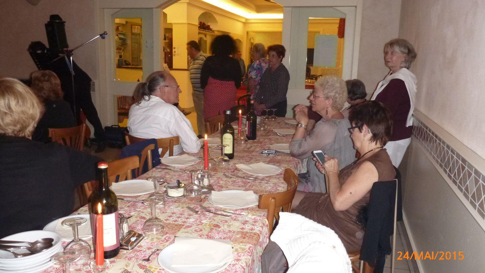 Le séjour à Rimini