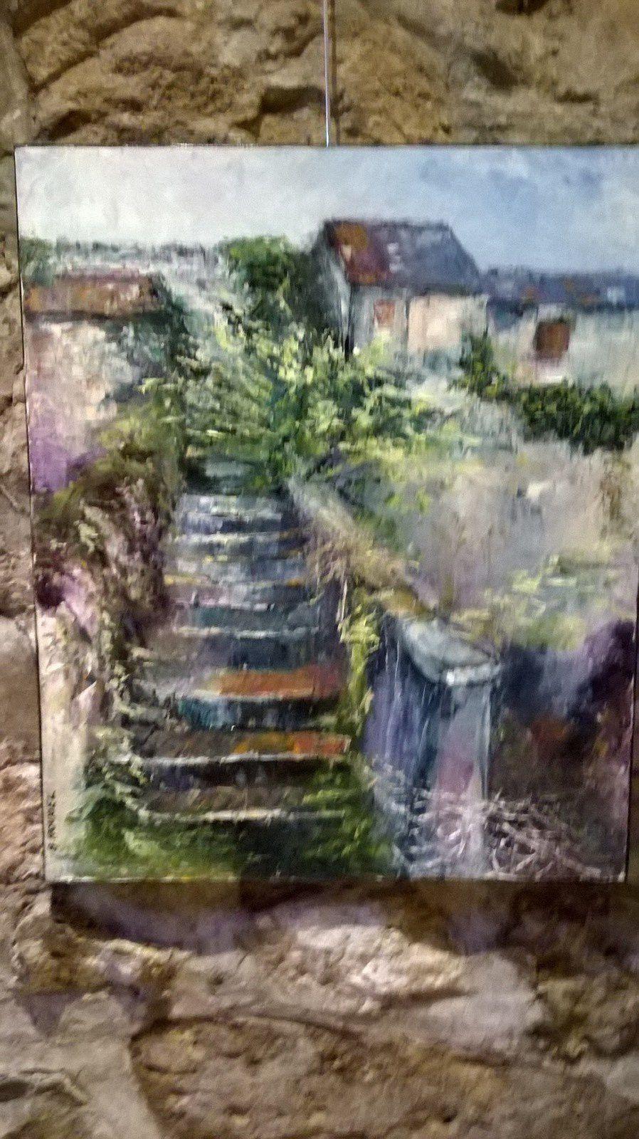 quelque part en Normandie....peinture à l'huile