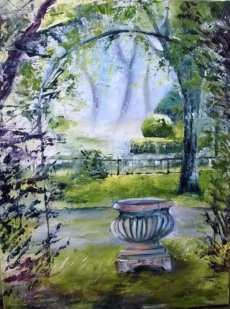 Petit coin dans les jardins de la Lune....Magnifique jardin remarquable du Val d'Oise, il faut y courir, et vous aurez toout le temps d'y flâner et de vivre un moment coupé de tout, hors du temps, un régal pour la vue et pour les sens, un moment paisible une source en somme....