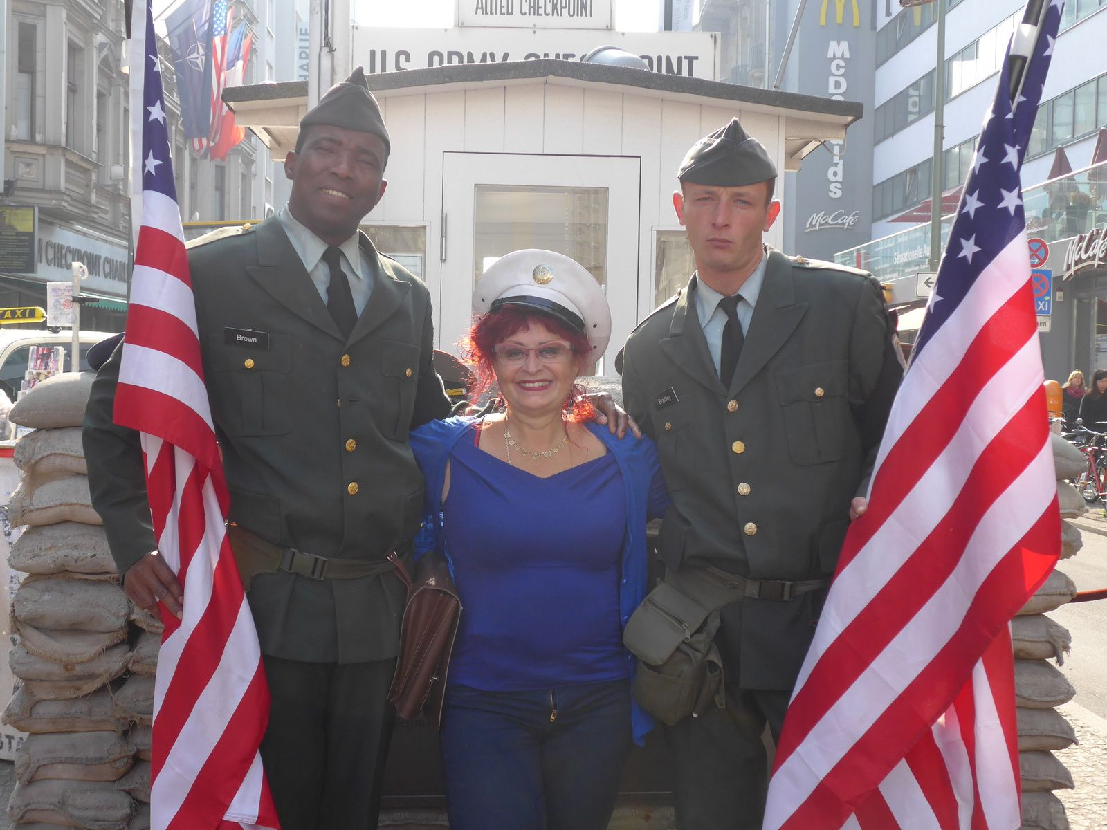 Check point Charlie...