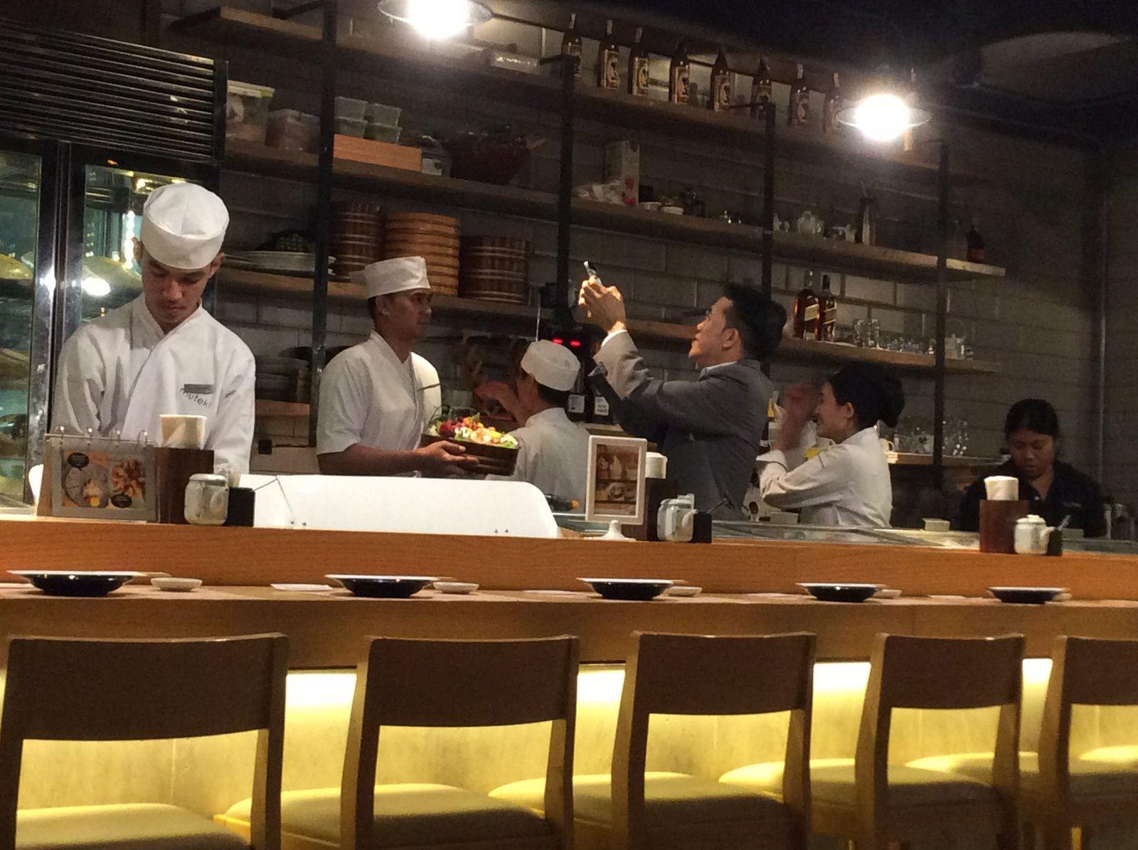 Repas chic? Mutekibkk.... 100% japonais