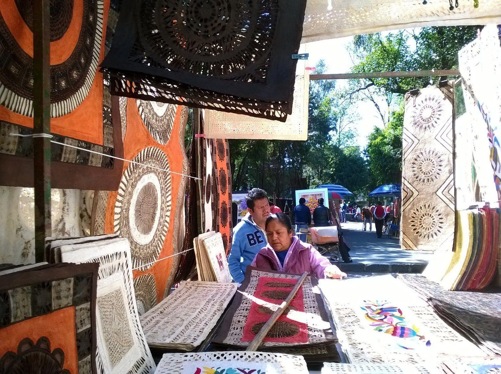 Le marché artisanal de WE de San Angel en photos