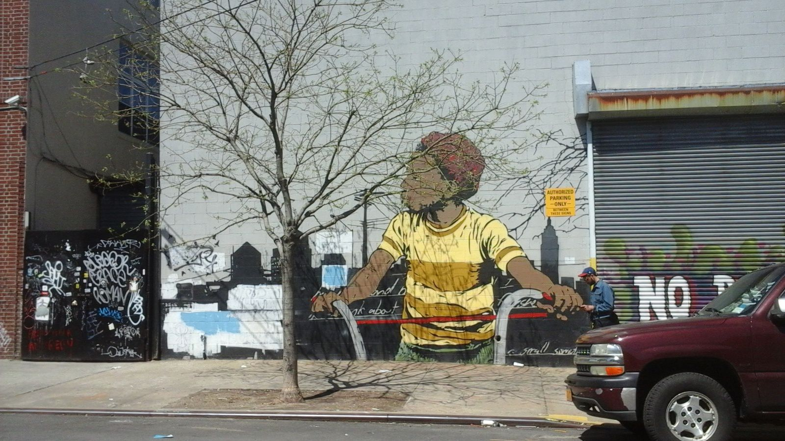 Le quartier de Bushwick New York