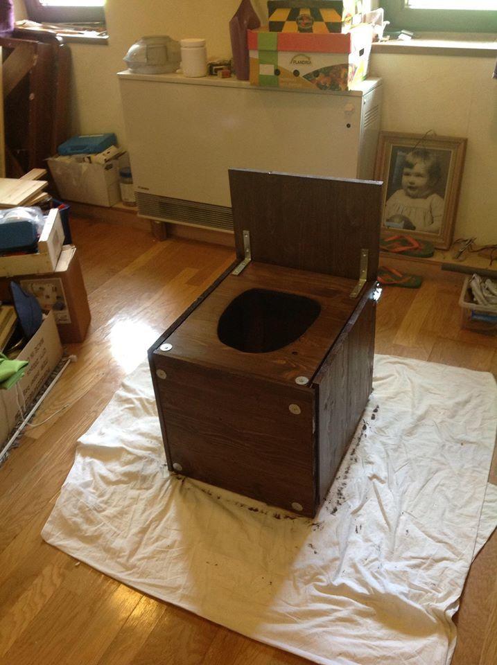Fabriquer sa toilette sèche