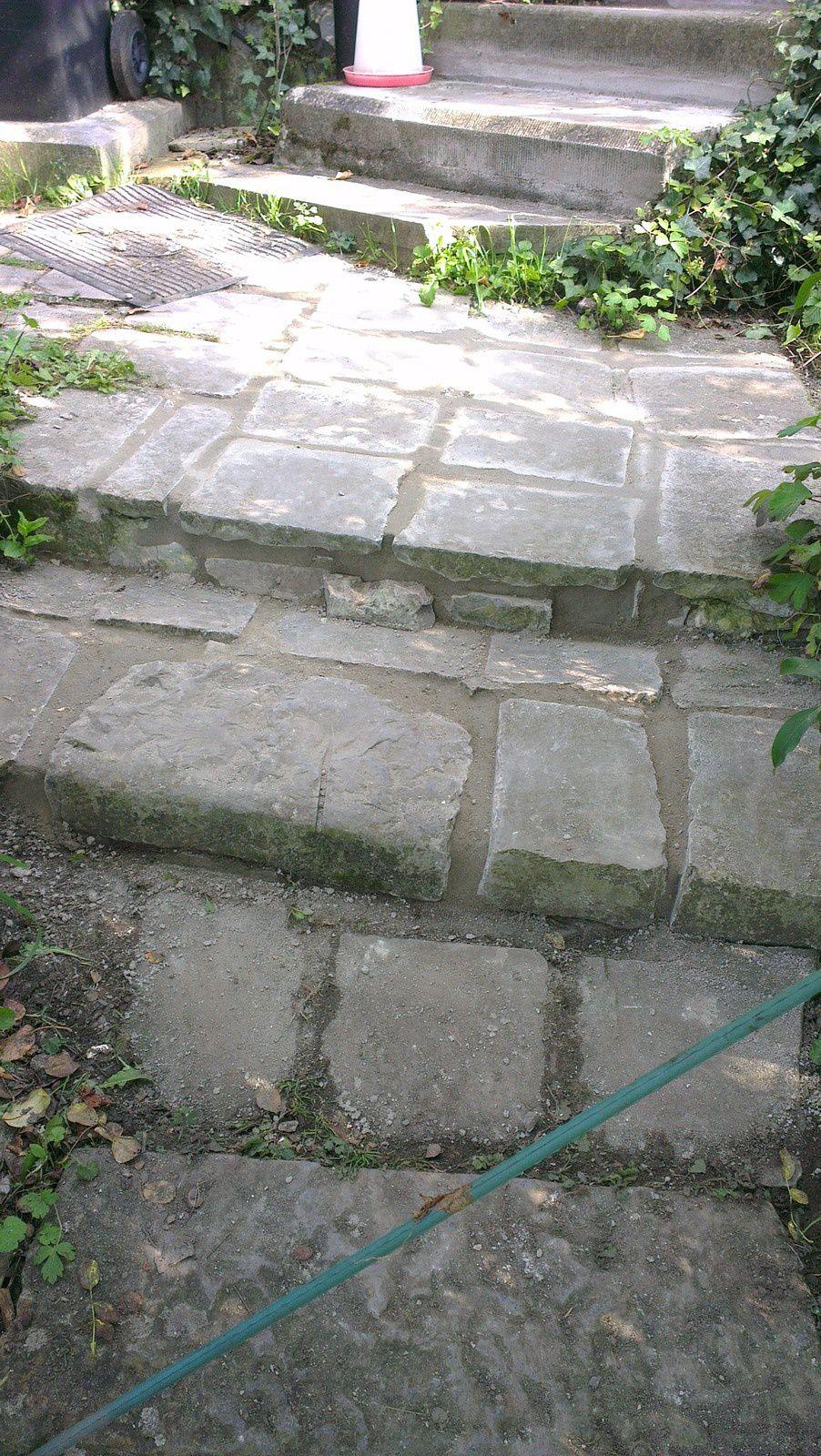 Restaurer les escaliers extérieurs