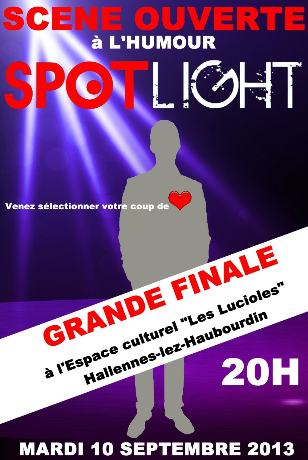 Spotlight - Evenements rentrée 2013