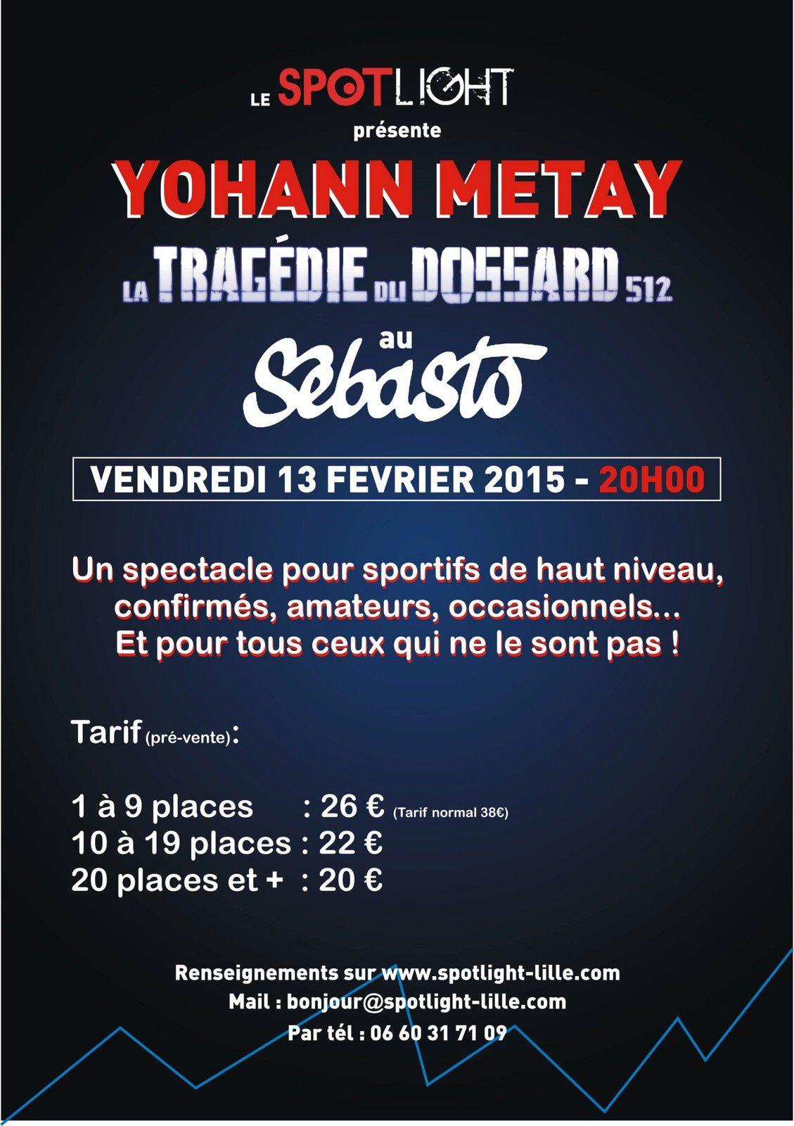 Yohann Métay : Dossier de presse