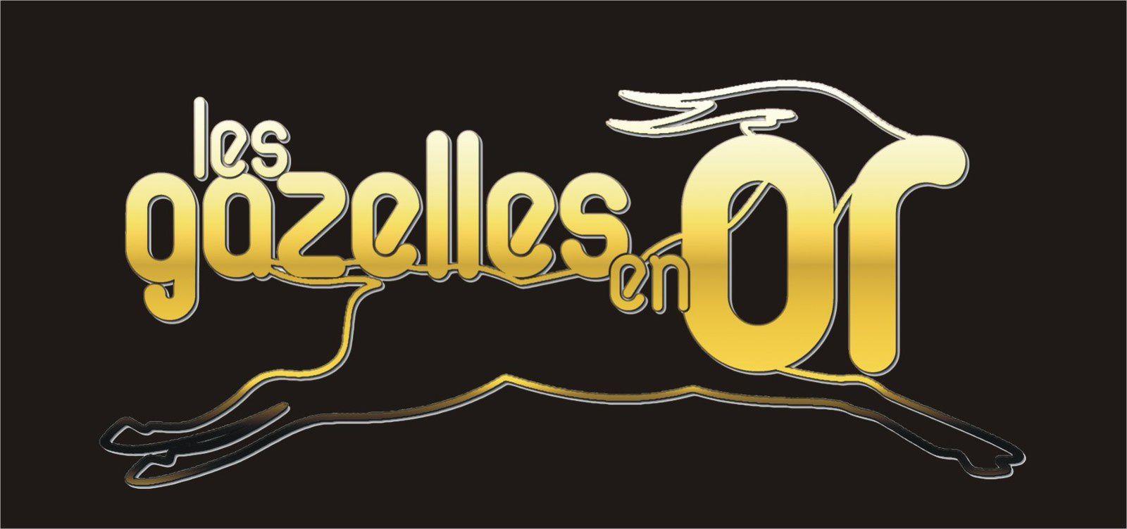 Logo pour &quot&#x3B;Les Gazelles en Or&quot&#x3B;