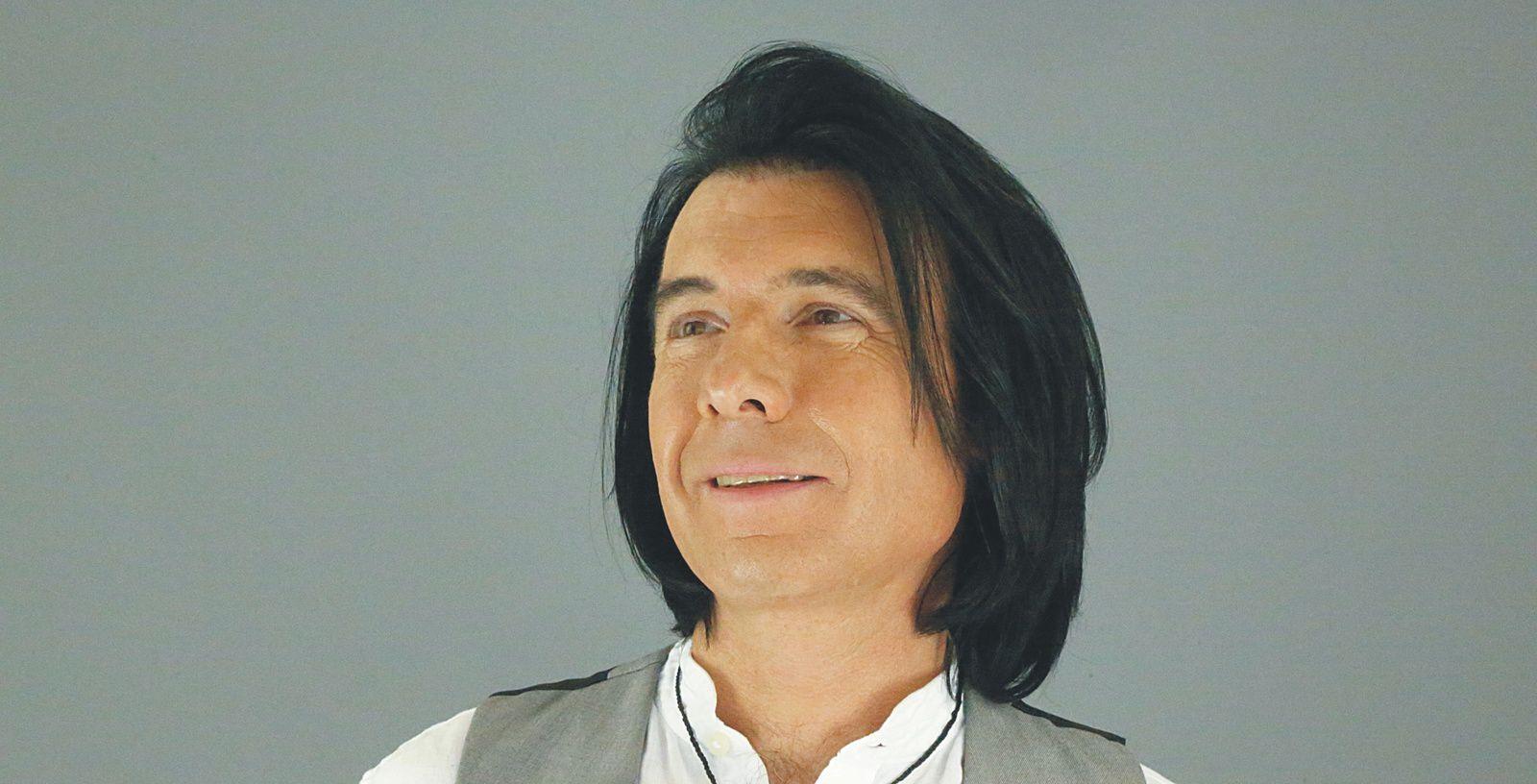 Laurent Dematte, chanteur.