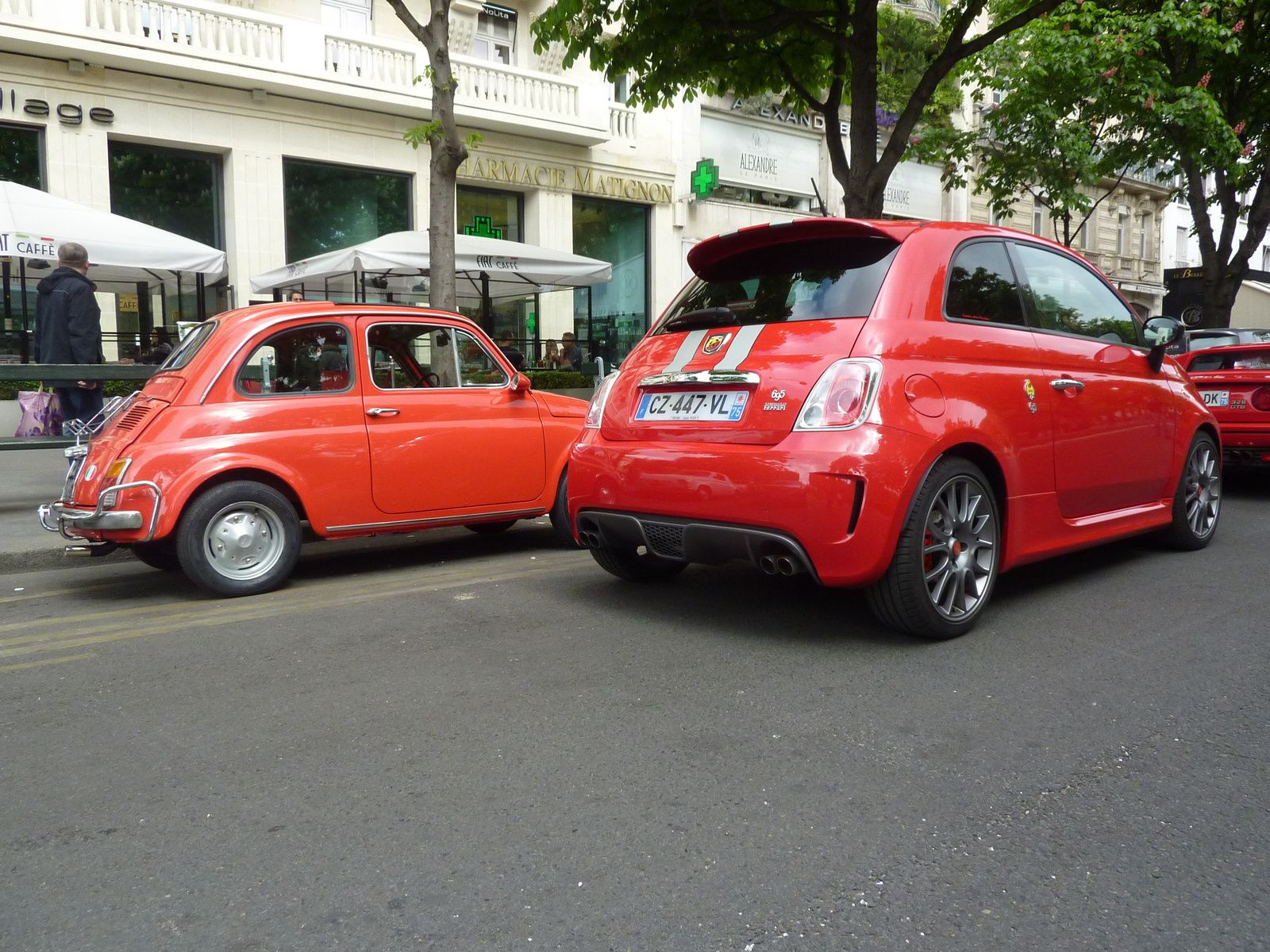 sortie motorvillage en fiat 500 paris. Black Bedroom Furniture Sets. Home Design Ideas