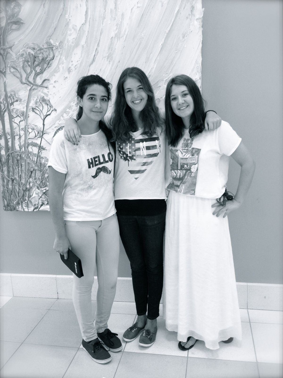 Last picture of Marit, Helena and me