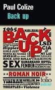 "Paul COLIZE ""Back up"" Editions Folio Policer N°685, 496p, 8.20€"