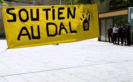 5 militants bordelais de Droit au logement condamnés