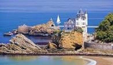 Le cadre d'une idylle contrariée : Biarritz
