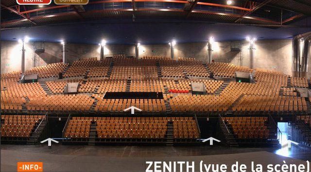 salle concert zenith lille