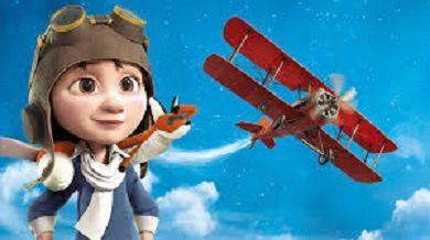 Etre aviatrice et partir là-haut....