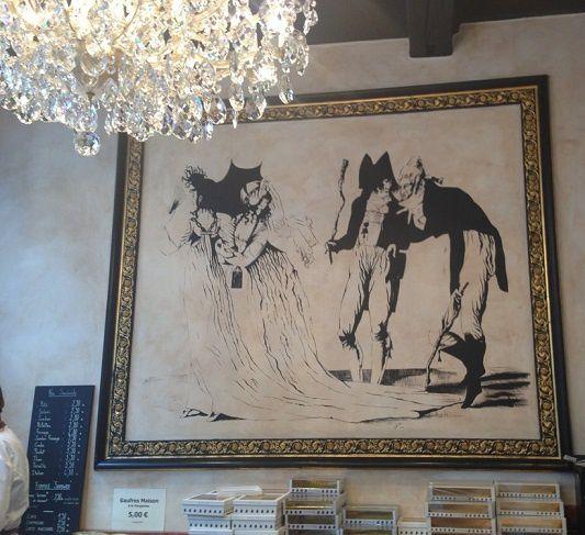 Ces incroyables et merveilleuses se sont installés au salon de thé à Lille.