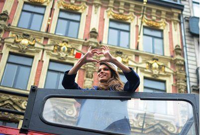 Un coeur pour nous et une belle façade du vieux Lille, en supplément