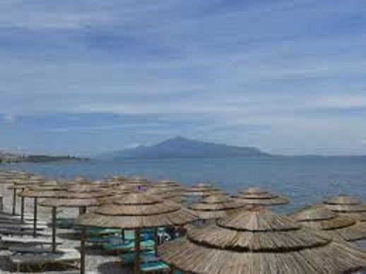 Image paradisiaque sur la mer Egée
