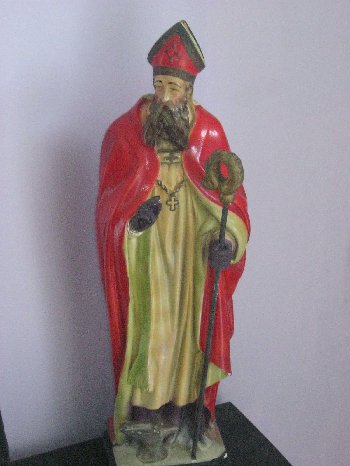 Statue de Saint Eloi pour la futur chapelle