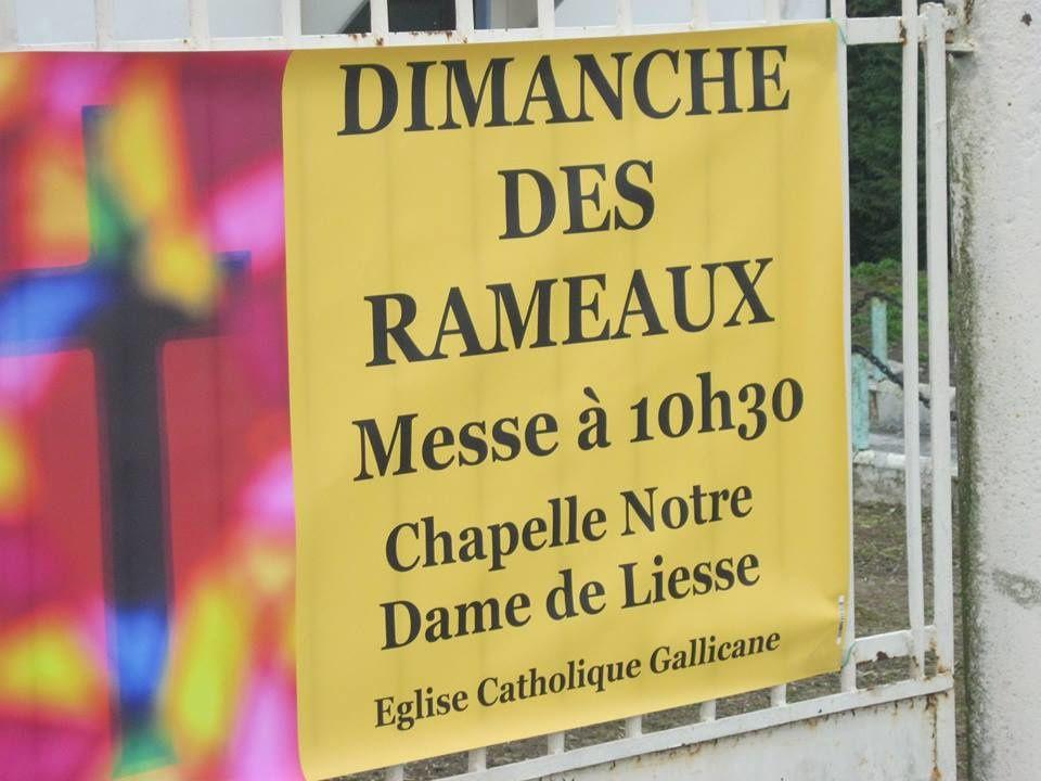 Messe des Rameaux 2017
