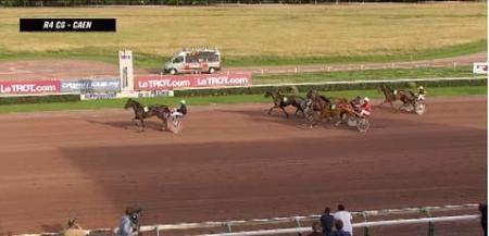 DORABELLE s'impose à Caen à 13€30........donné en 3 chevaux
