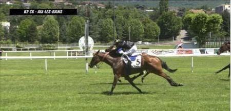 BELPHEGORIA GAGNE à Aix à 9€00.......encore en 2 chevaux
